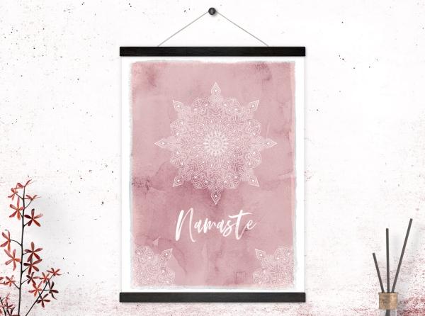 Kunstdruck Namaste