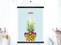 Kunstdruck Aloha
