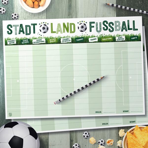 Stadt Land Fussball