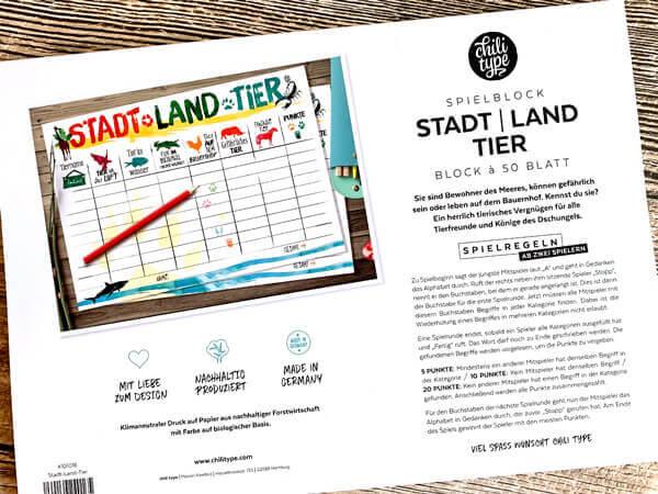 Stadt-Land-Tier-Spielblock-3